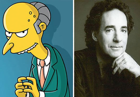 What The Simpsons Will Do Without Harry Shearer Mr Burns and Harry Shearer WEB