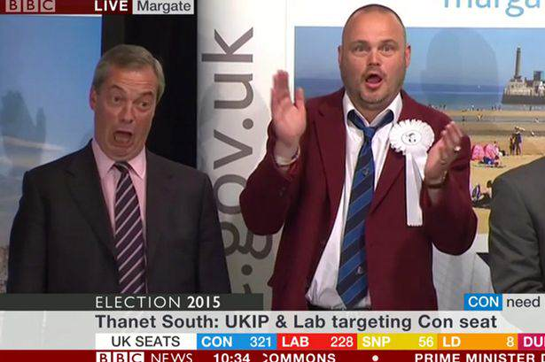 Al Murray Had The Best Reaction To Nigel Farage Losing Murray Farage
