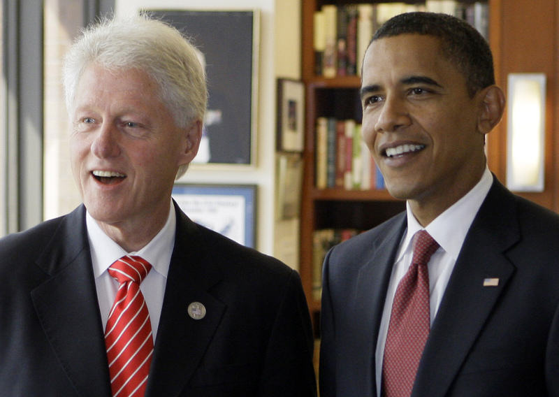 Barack Obama Joins Twitter, Has Presidential Banter With Bill Clinton Obama clinton