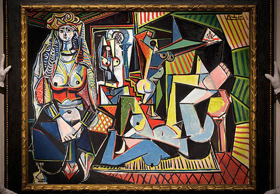 This Picasso Just Became The Most Expensive Artwork Ever Sold At Auction Picasso painting WEB