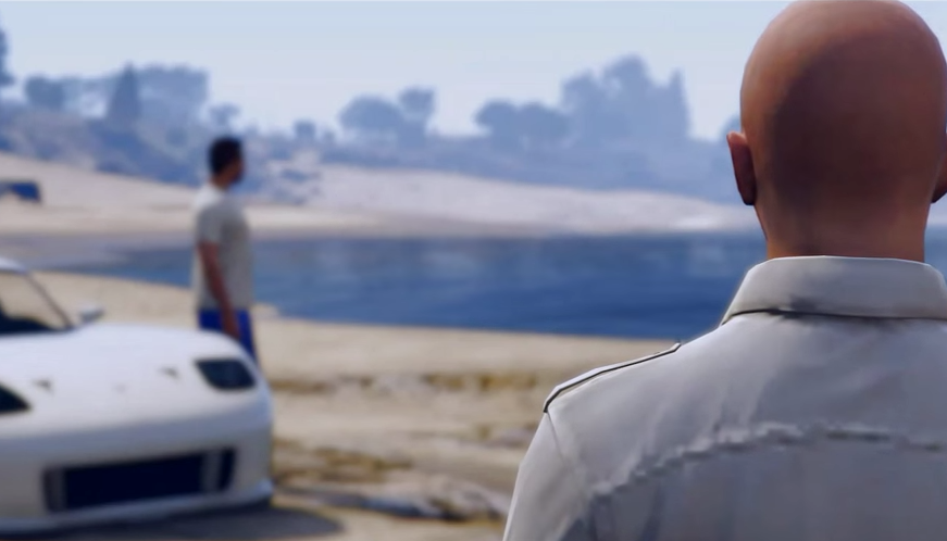 Some Genius Has Created A Paul Walker Tribute In GTA V Screen Shot 2015 05 01 at 11.23.18