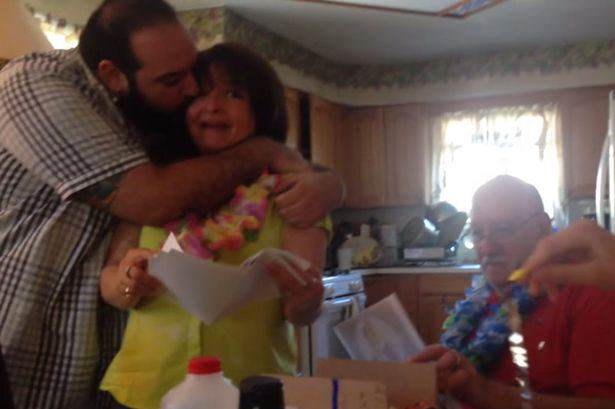 Lad Surprises Parents With Trip To Hawaii For Their 50th Anniversary Son vacation 02
