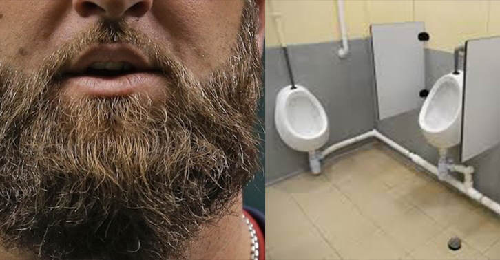 Study Shows That Beards Contain More Poo Than Some Toilets TN110