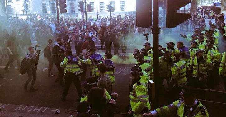 The Internet Reacts To The London Protests TN135