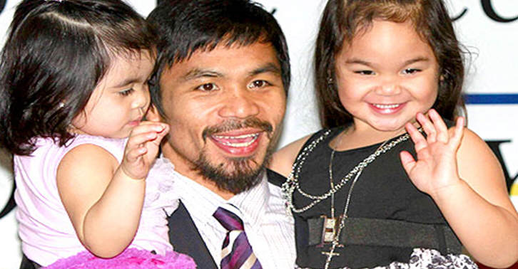 Manny Pacquiaos Daughter Doesnt Want A Rematch TN19