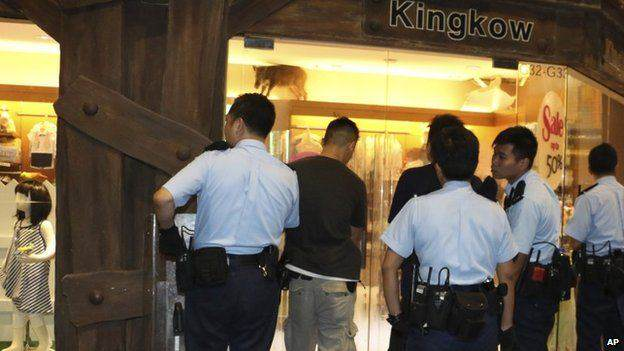 Wild Boar Smashes Up Shops In Hong Kong Mall Wild boar 02