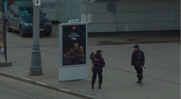 This Ad For Banned Food In Russia Hides Itself From The Police ad hide russia