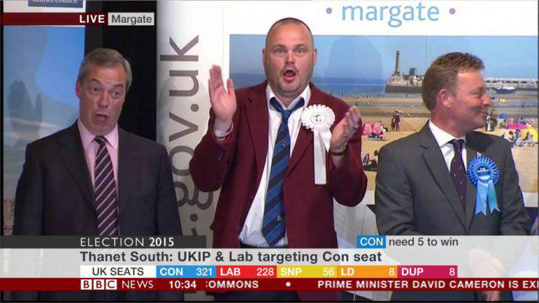 Nigel Farage Fails To Become An MP, Loses South Thanet Seat ad 168387185