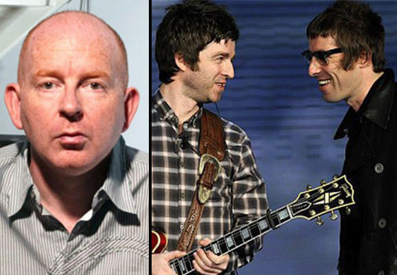Former Oasis Manager Alan McGee Doesnt Fancy The Chances Of A Gallagher Brother Reunion alan mcgee WEB