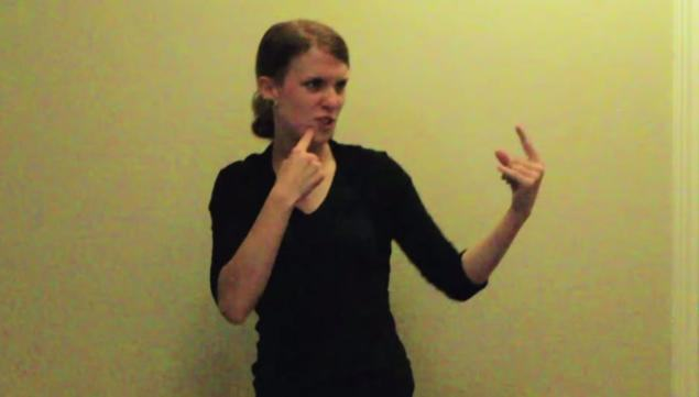 Woman Does Sign Language Version Of Lose Yourself, Crushes It als