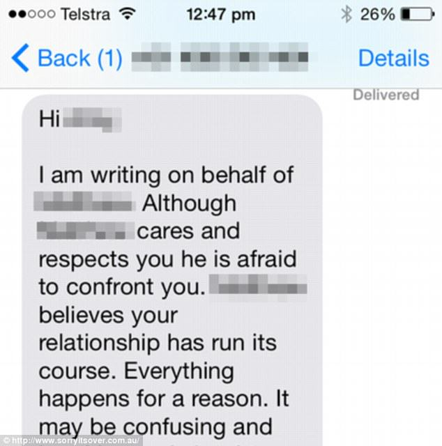 You Can Now Pay A Company To Break Up With Your Partner For You app