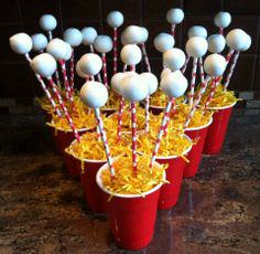 You Can Now Make Beer Pong Cake Pops, Theyre An Actual Thing beer pong cake pop1