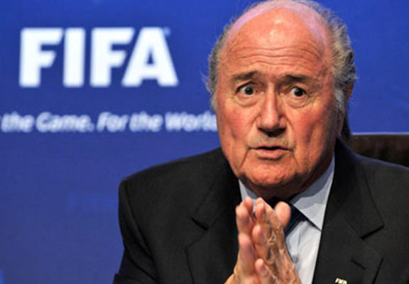 Sepp Blatter Says U.S Authorities And British Press Want Him Out Of Power blatter fifa WEB