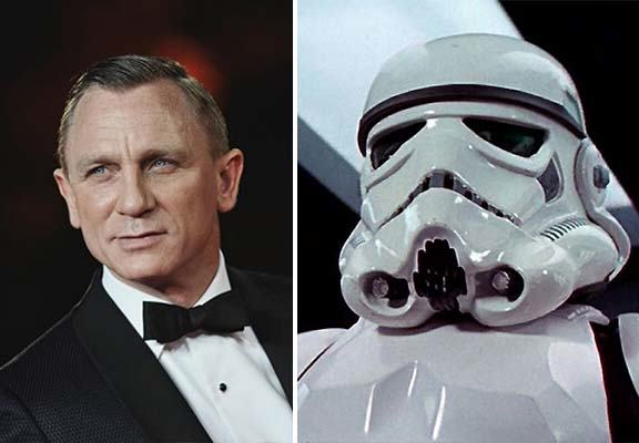 Daniel Craig To Cameo As A Stormtrooper In Star Wars: The Force Awakens daniel craig star wars WEB