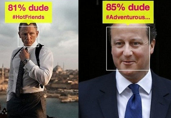 'How Dude Do I Look' App Thinks David Cameron Is More Of A Dude Than Daniel Craig