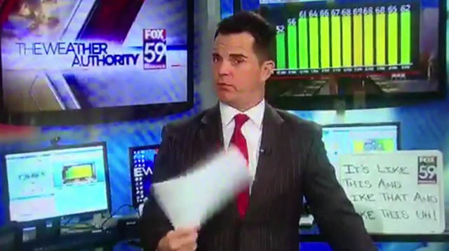 Newsreader Makes Massive Gaff After Dropping F Bomb Live On Air food fuck