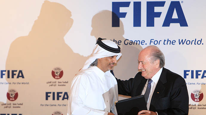 The World Cup That Could Cost Thousands Of Lives And Fifas Cover Up germany reporters detained qatar.si