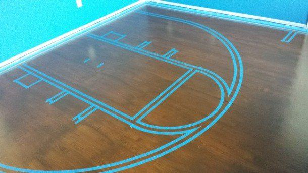 This Dad Created A Basketball Bedroom For Daughter, Its Epic girl2