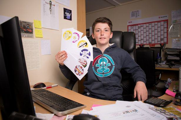 This Young Lad Made £3,000 In Eight Weeks As Boss Of His Own Business harvey tax disc 1
