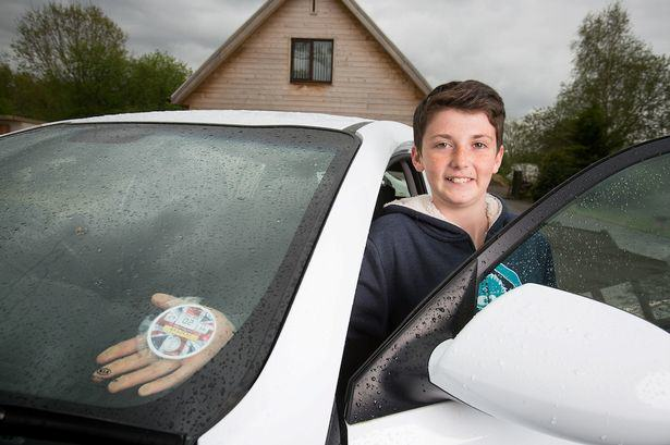 This Young Lad Made £3,000 In Eight Weeks As Boss Of His Own Business harvey tax disc 2