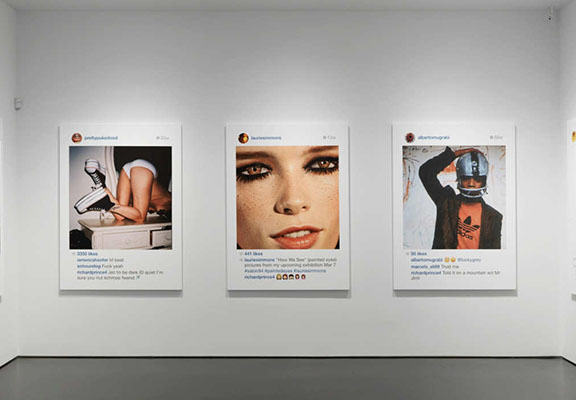 This Artist Sold Other Peoples Instagram Photos For Nearly $100,000 At Art Show instagram art WEB