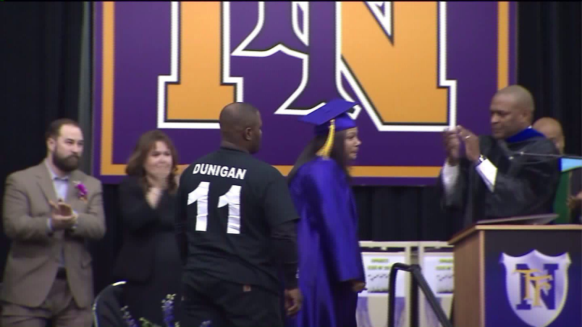 Mum Accepts Diploma For Dead Son, Its Seriously Emotional Stuff jackson1