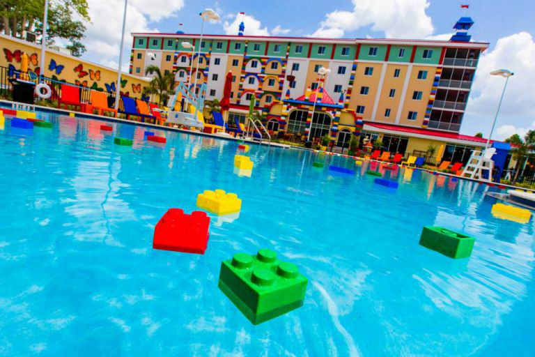 Worlds Biggest LEGO Hotel Opens In Florida, Looks AWESOME lego hotel 3