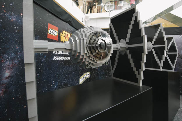 Heres The Worlds Biggest LEGO Millennium Falcon Because May The Fourth Be With You lego
