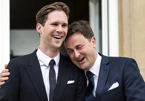 Luxembourg Prime Minister Marries Male Partner One Year After Nation Approves Same Sex Marriage luxembourg pm WEB 1