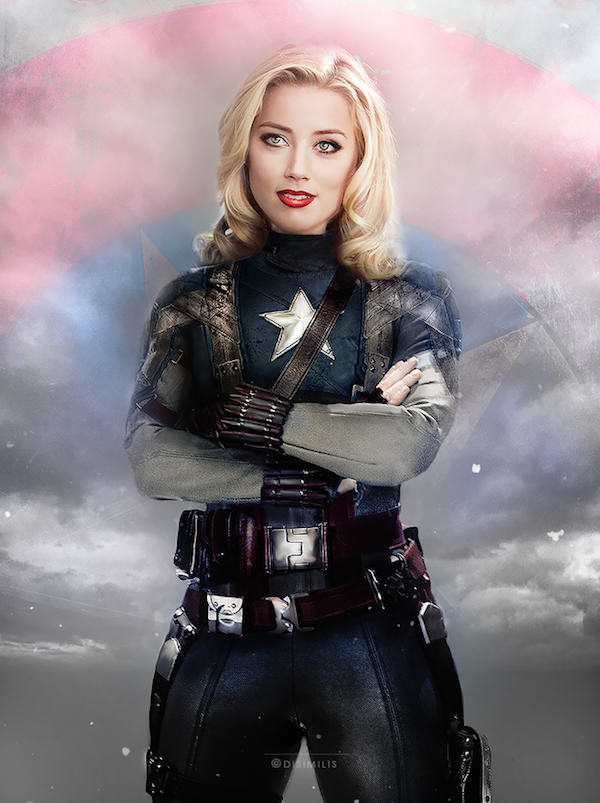 One Artist Has Switched Up The Avengers To Female Actresses, Its Amazing marvel7