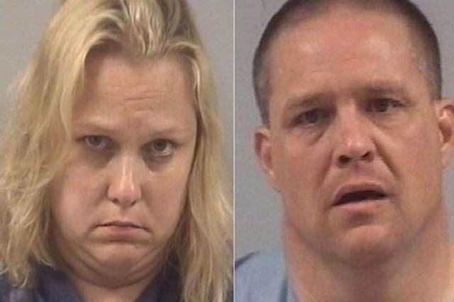 School Teacher And Husband Busted After Meth Lab Found At Their Home meth couple 640x426