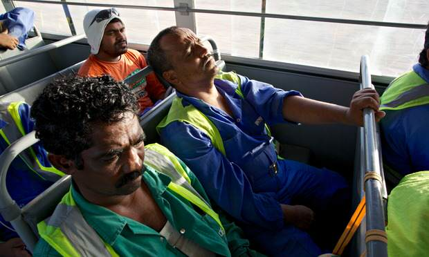 How Many People Will Die For Qatars Bloody World Cup? migrant qatar 0121