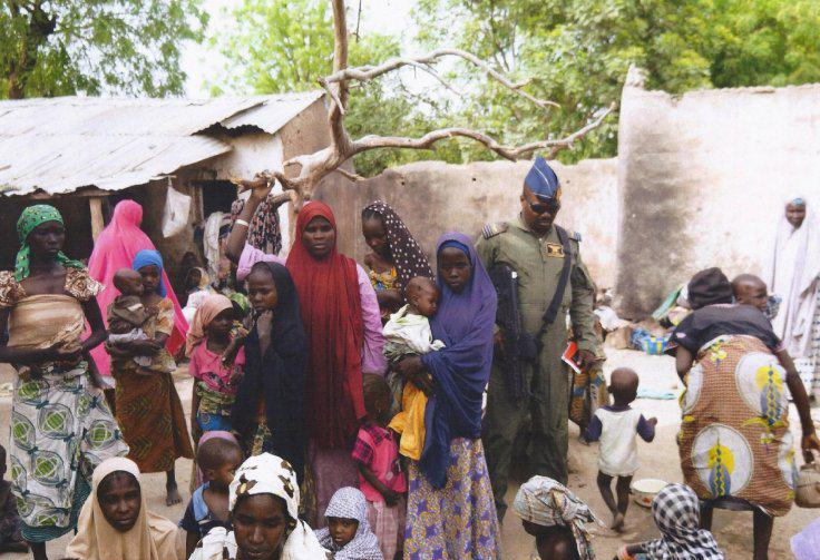 214 Out Of 234 Females Rescued From Boko Haram Visibly Pregnant nigeria boko haram atrocities
