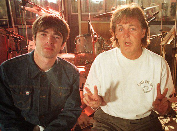Paul McCartney Tells Oasis To End Feud And Make Good Music noel gallagher paul mccartney and paul weller 1380020981 view 1