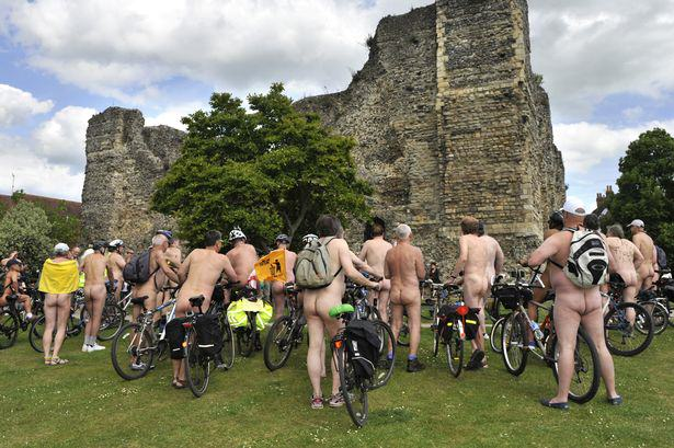 Nude Cyclist Removed From World Naked Bike Ride After Becoming Aroused nude cyclists 1