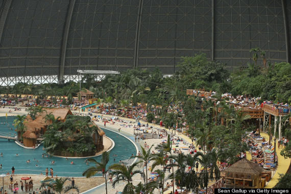 This Massive Aircraft Hangar In Germany Is Actually A Tropical Island Paradise o 161955540 570