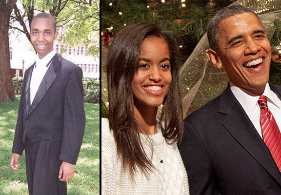 Lawyer Offers Barack Obama 50 Cows, 70 Sheep, 30 Goats To Marry His Daughter obama daughter WEB