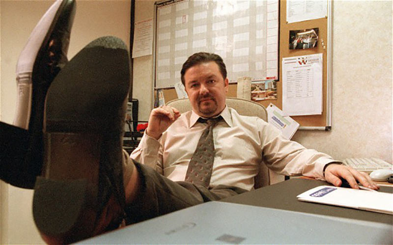 Ricky Gervais Secures Funding For The Office Film office 2209341b