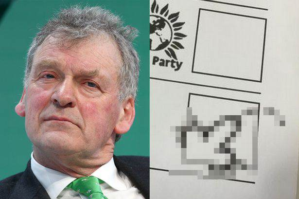 Voter Draws A Penis On Their Ballot Paper And Accidentally Votes For The Tories penis pic election