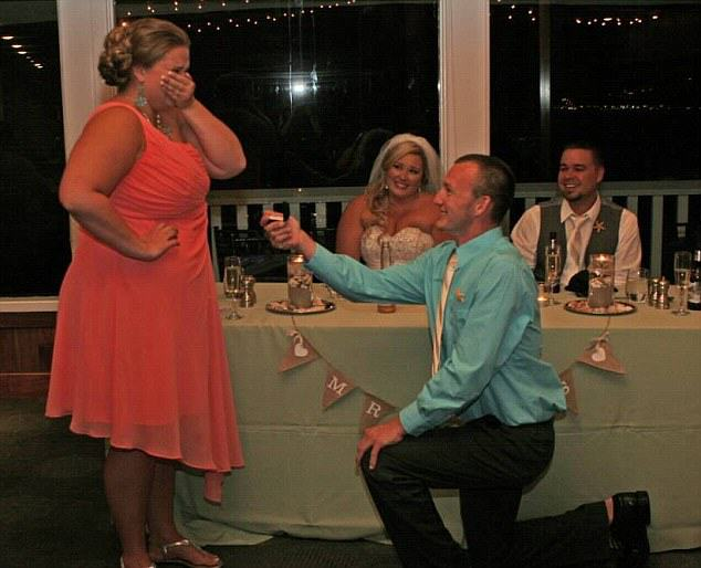 Bridesmaid Gets Proposed To At Wedding, Internet Goes Mad, Bride Looks Ready To Kill piggy