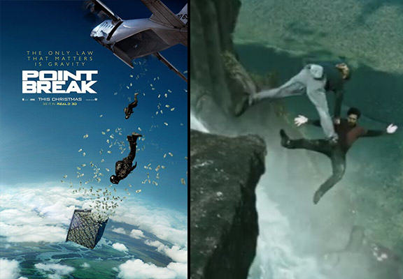 Trailer For The Point Break Remake Is Here, Features A Lot Of Crazy Stunts point break WEB