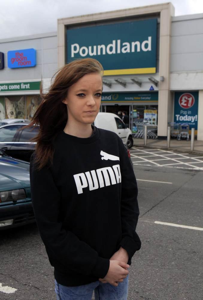 Poundland Employee, 17,  Quits After Being Forced To Have Her Bra Searched poundland