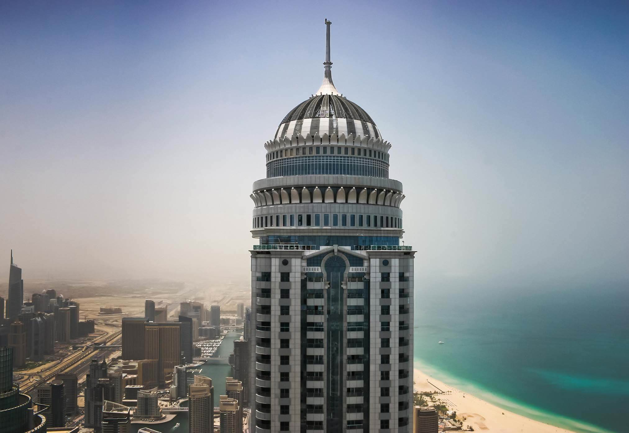 This Base Jump Off The Worlds Second Highest Residential Building Is Epic princess