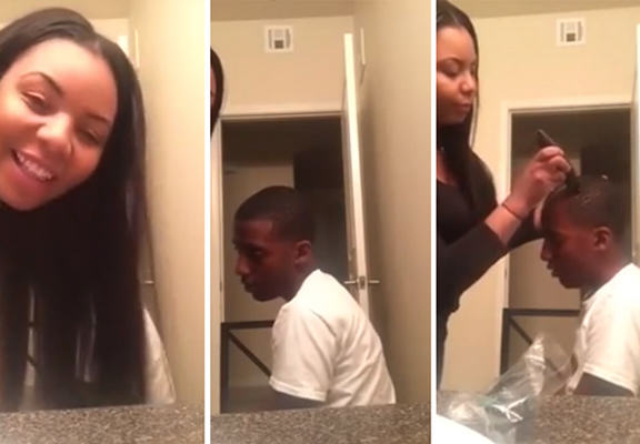 Woman Shaves 12 Year Old Stepsons Head For Smoking Cannabis shaved head WEB