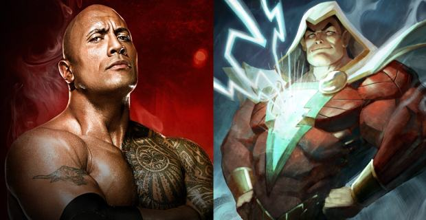 The Rock Talks About Role As The Anti Hero In Shazam And WWE Return shazam