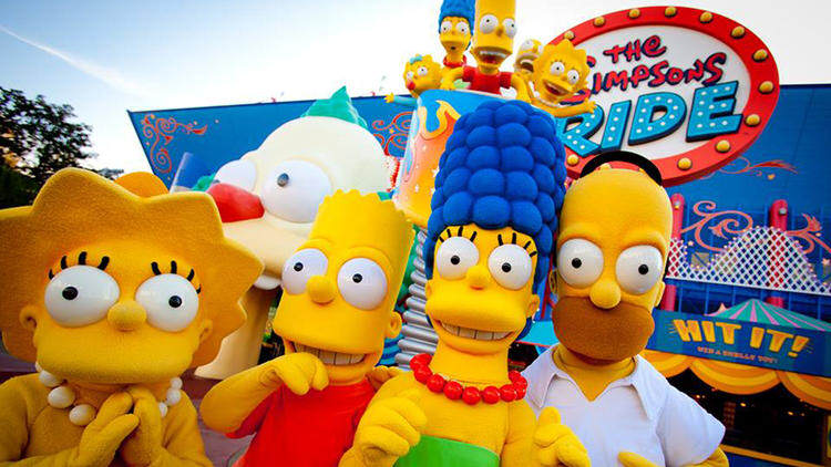 Springfield Comes To Life As Universal Studios Opens The Home Of The Simpsons sideshow bob 3