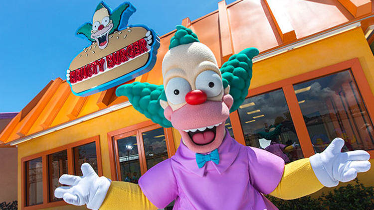 Springfield Comes To Life As Universal Studios Opens The Home Of The Simpsons sideshow bob 4