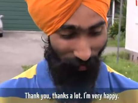 Sikh Man Who Helped Save Young Boys Life Is Given Awesome Surprise sikh man new