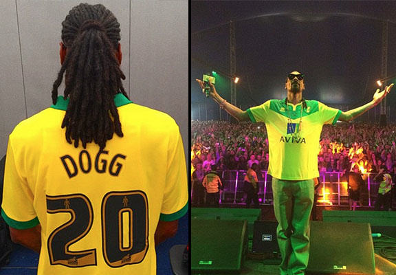 Snoop Dogg Shows Support For Norwich City At Radio 1s Big Weekend snoop norwich WEB