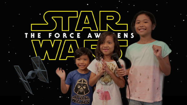 Kids Dub Over Star Wars: Force Awakens Trailer, Its Seriously Awesome sw